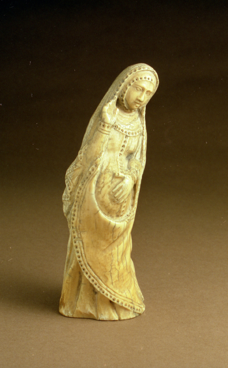 ... Blessing pregnant virgin (hauteur 16cm approx - height 7 inches approx.